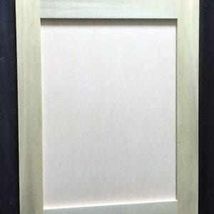 Poplar Cabinet Door with MDF_19.75x24.25