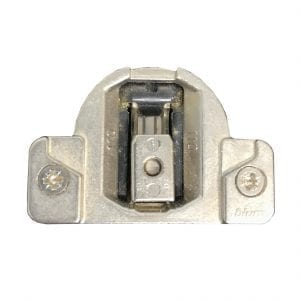 "uses system screws 175H9160 BLUM CLIP 6mm for 1//2/"" overlay MOUNTING PLATE"