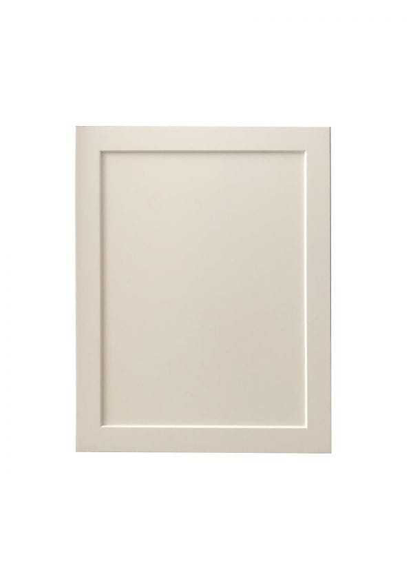 White Cabinet Door with Recessed Panel