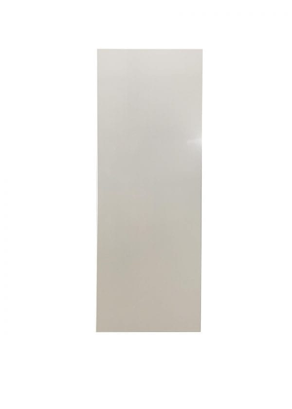 Solid Wood Refrigerator Panel in White