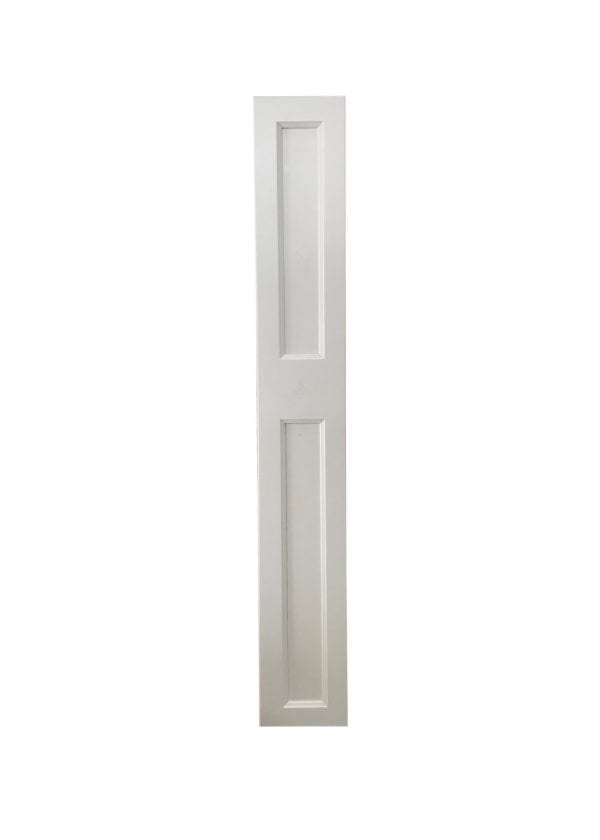 White Finish Cabinet Door or Drawer Front