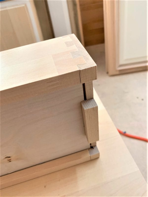 Roll Out Drawer Box Bottom View