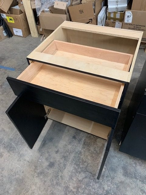 Base Cabinet in Black