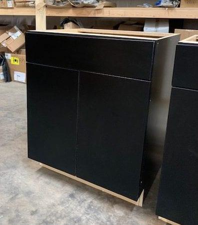 Base Cabinet Unit in Black