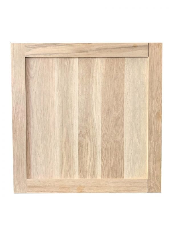 """White Oak Cabinet Door Square Unfinished 25 3/4"""" x 25 3/4"""""""