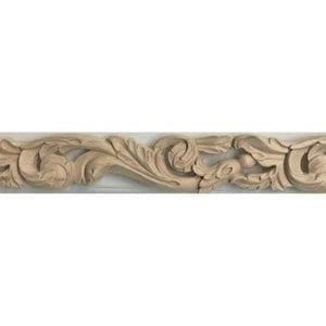 Scroll Wood Trim
