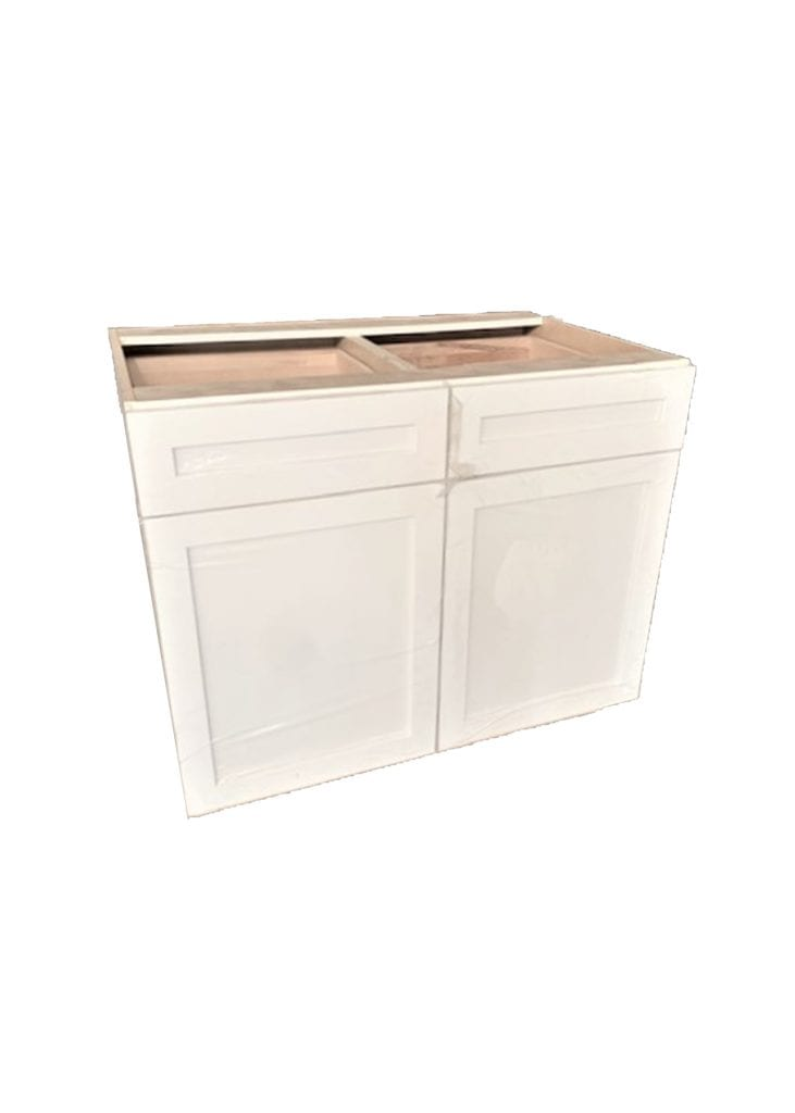 Double Drawer Base Cabinet