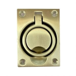 Baldwin Flush Ring Pull 0395040