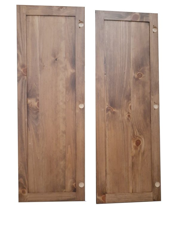Stained Pine Doors Back_17x50