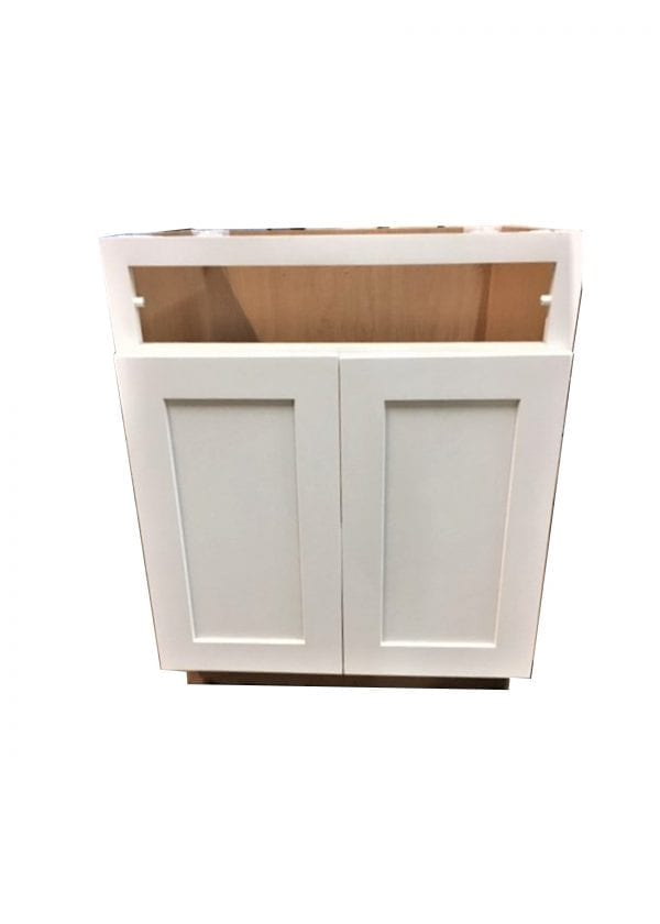 White Cabinet without drawer front