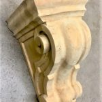 Scroll Wave Corbel in Maple